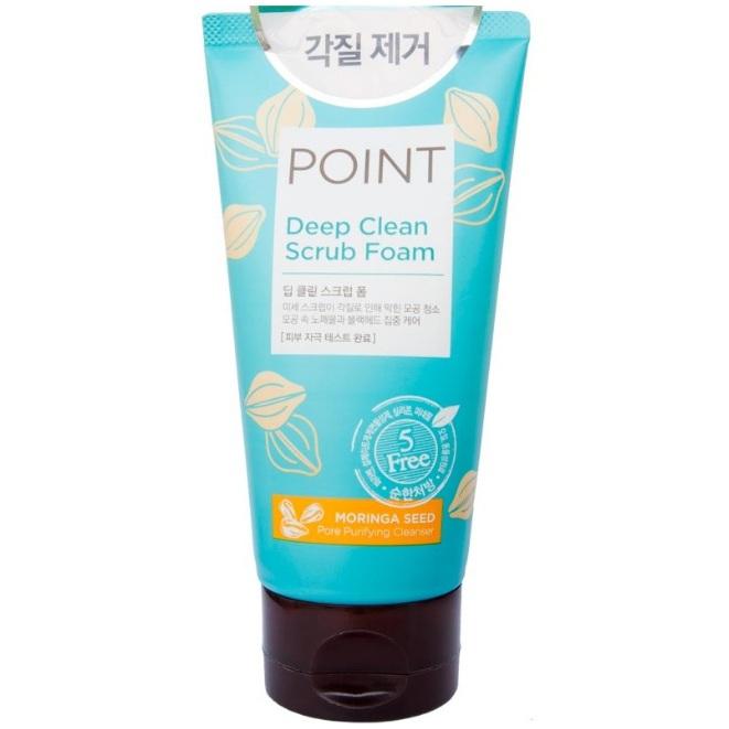 Купить KeraSys Point Эксперт Пенка-скраб для умывания для всех типов кожи 150г