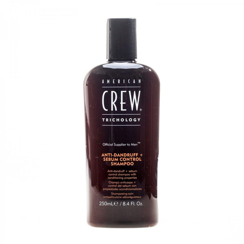 American crew anti-dandruff shampoo шампунь для