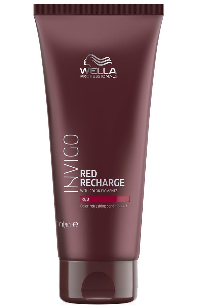 Купить Wella Invigo Color Recharge Оттеночный бальзам-уход для красных оттенков 200мл