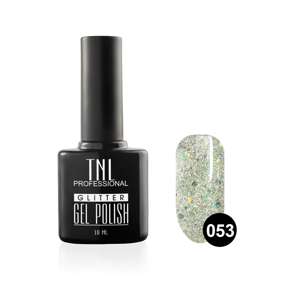 Tnl гель-лак glitter №53 - бабушкины