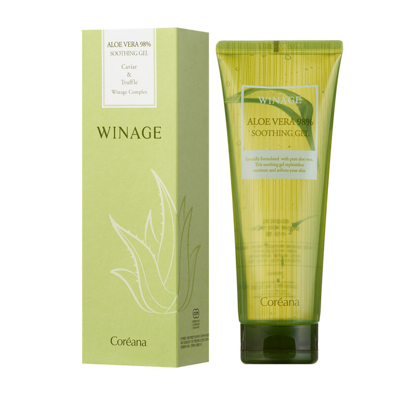 Winage Aloe Vera 98% Soothing Gel Алое Вера гель 250 мл  - Купить