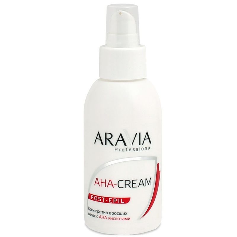Купить Aravia Крем против вросших волос с АНА кислотами 100мл, Aravia Professional