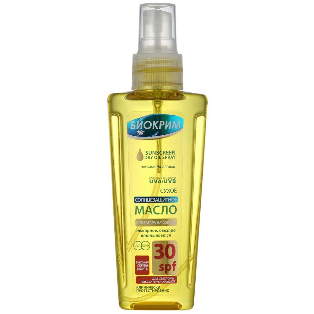 Биокрим масло солнцезащитное SPF30 150 мл