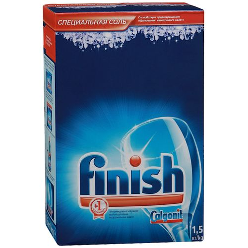 Finish Соль спец. для посудомоечных машин 1,5 кг от Лаборатория Здоровья и Красоты