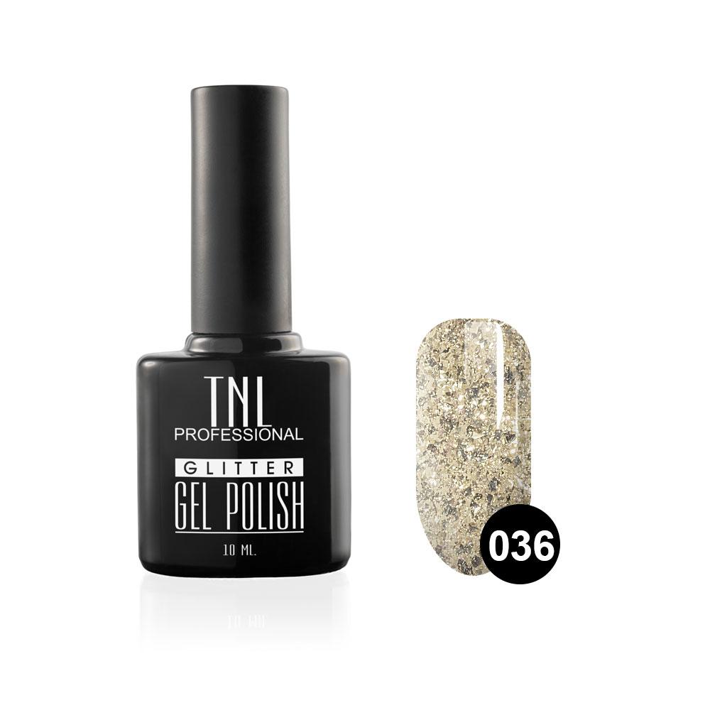 Tnl гель-лак glitter №36