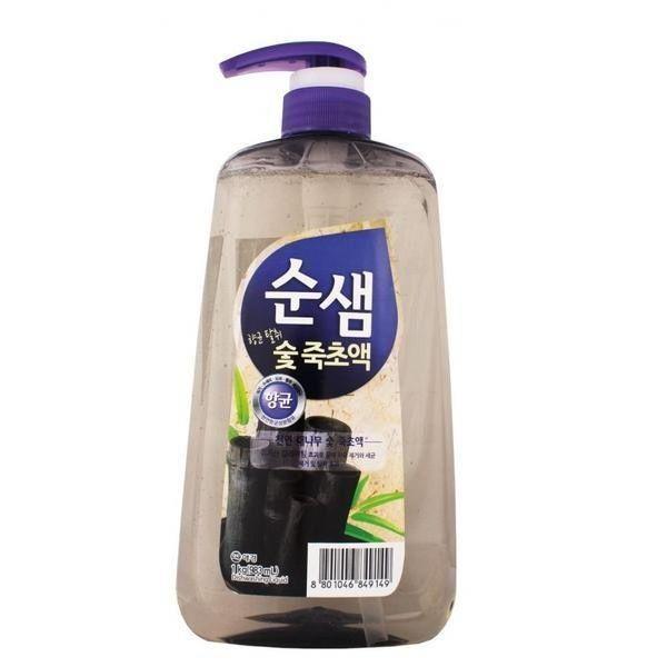 Купить Kerasys средство для мытья посуды СУНСЭМ Бамбуковый уголь 1000мл