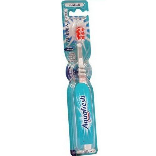 Аквафреш зубная щетка Вайт энд Шайн средняя от Лаборатория Здоровья и Красоты