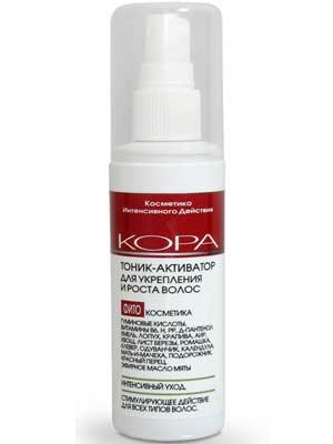 Купить Кора Тоник-активатор для укрепления и роста волос 100 мл