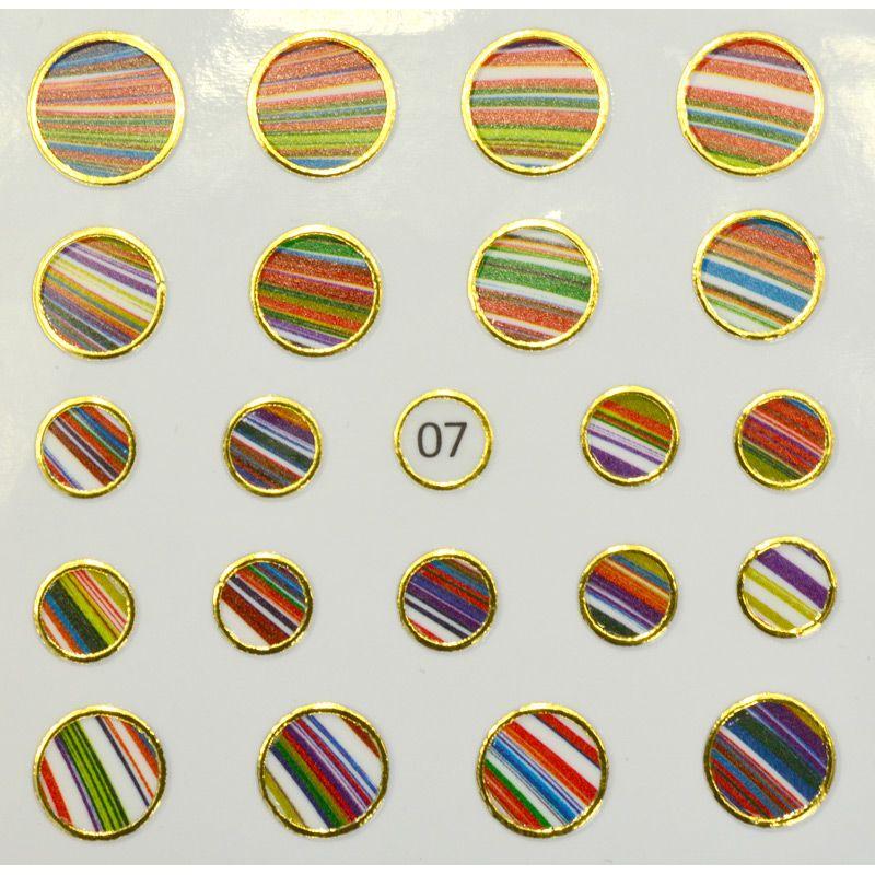 Tnl стикер для ногтей жидкий камень