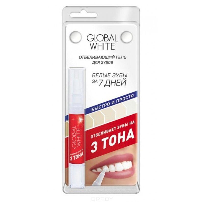 Global white Отбеливающий карандаш Мята 3 тона