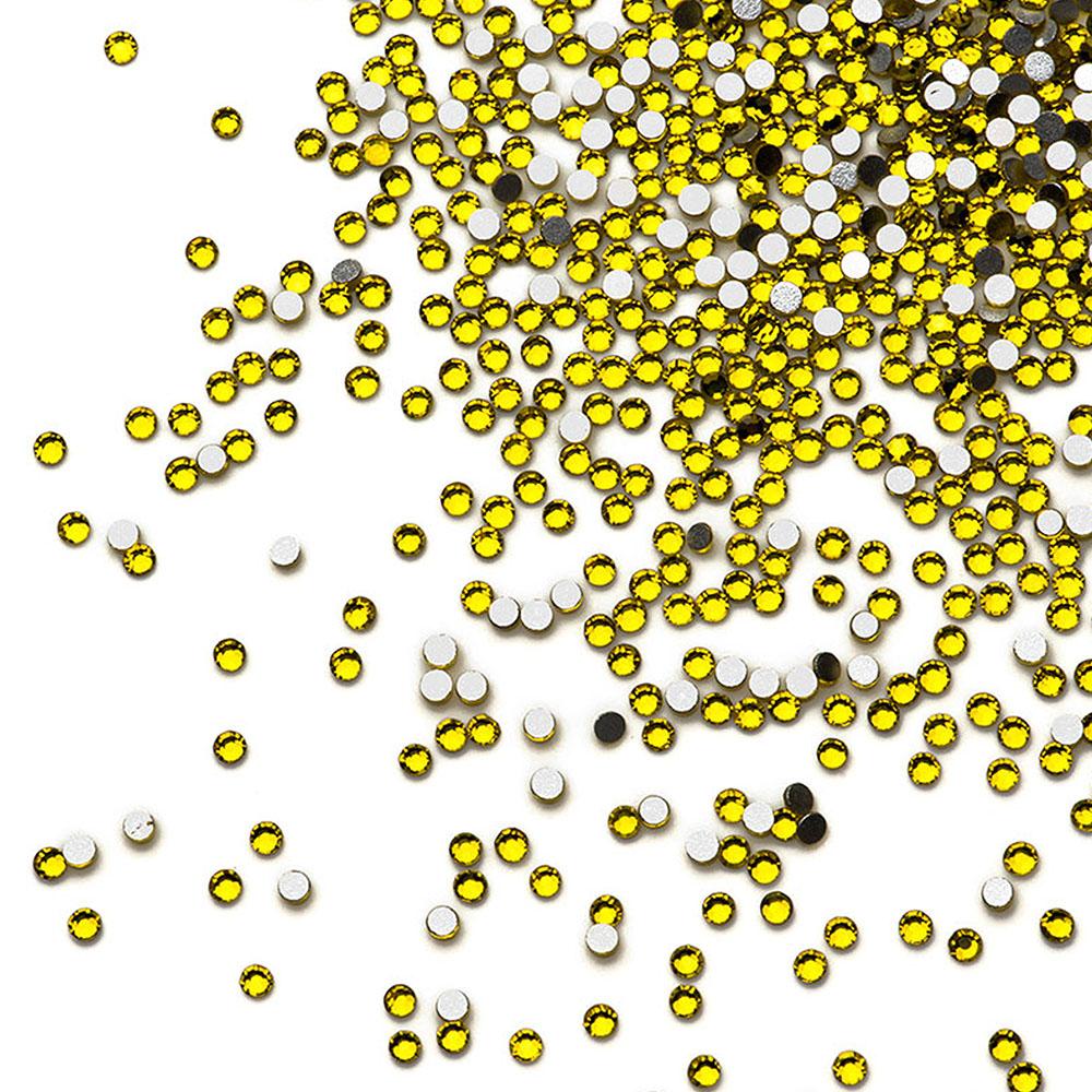 Tnl стразы кристалл 50 шт. лимон №05