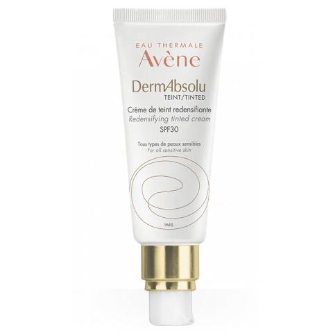 Купить Avene (Авен) ДермАбсолю Крем для упругости кожи лица с тонирующим эффектом spf30 туба 40мл (C79960)