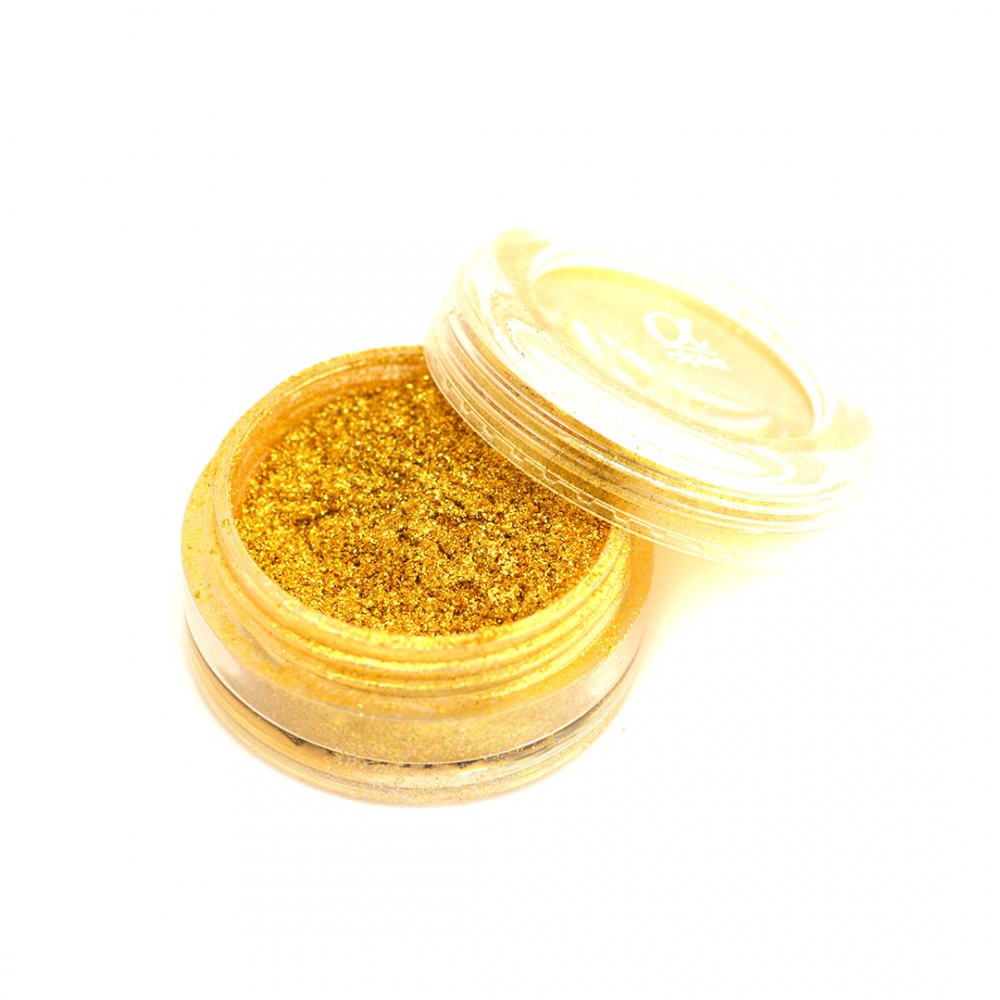 Tnl пыль мерцающая мелкодисперсная №07 (золотая)