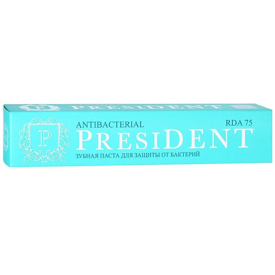 Купить President Antibacterial зубная паста 75мл