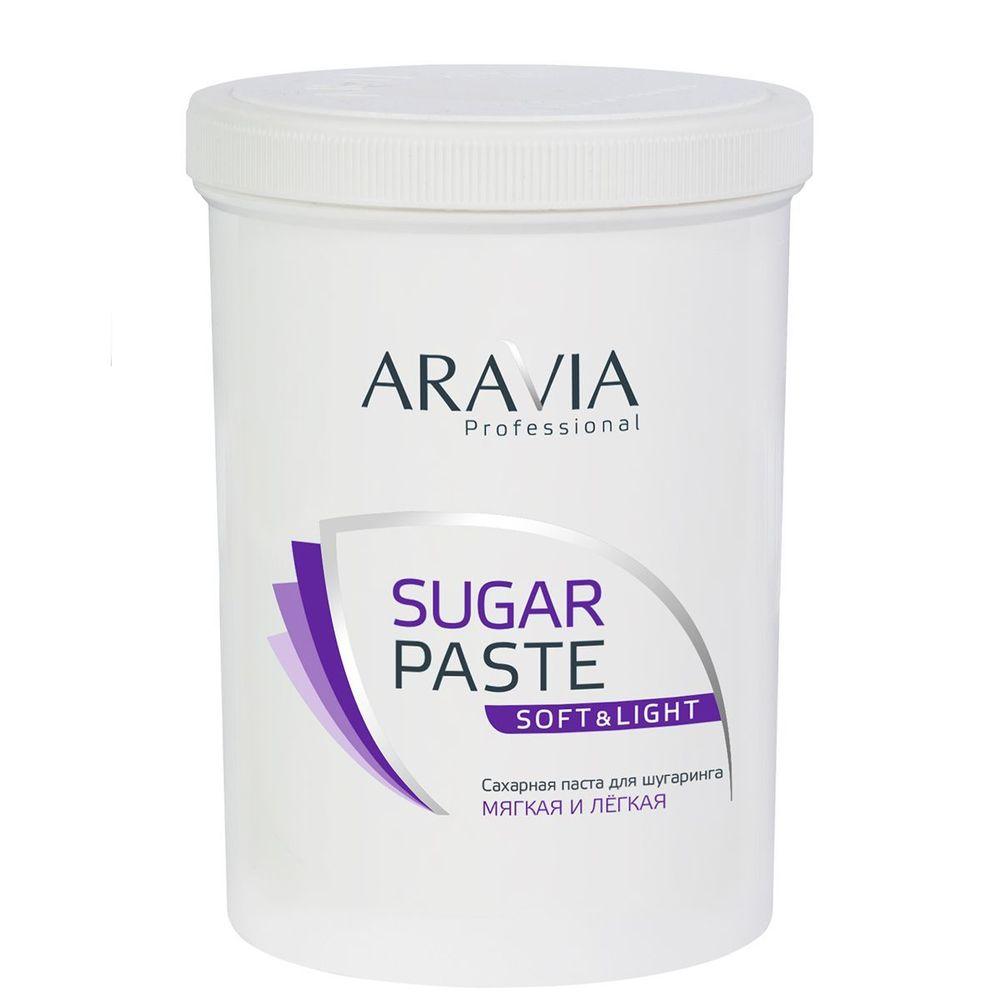 Aravia Паста сахарная для шугаринга Лёгкая 1500г Aravia professional