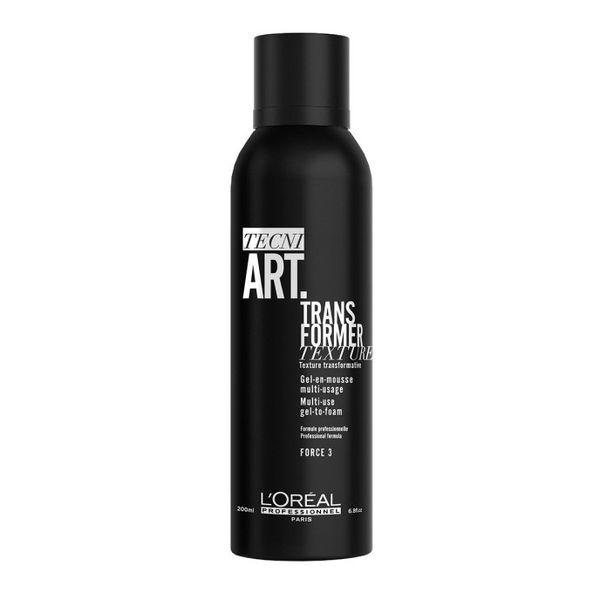Купить Loreal Professionnel Tecni.Art Transformer Универсальная гель-мусс для волос средней фиксации 150мл