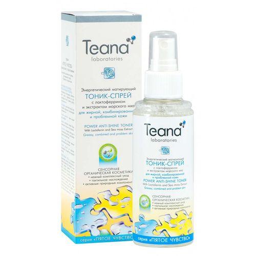 Teana/Теана Энергетический витаминный тоник- спрей с экстрактом микроводоросли и ДНК 125мл
