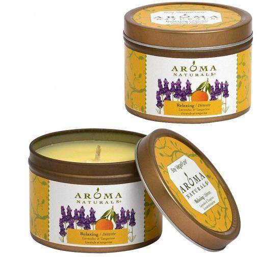 Купить Aroma Naturals Свеча Релакс 80 г банка