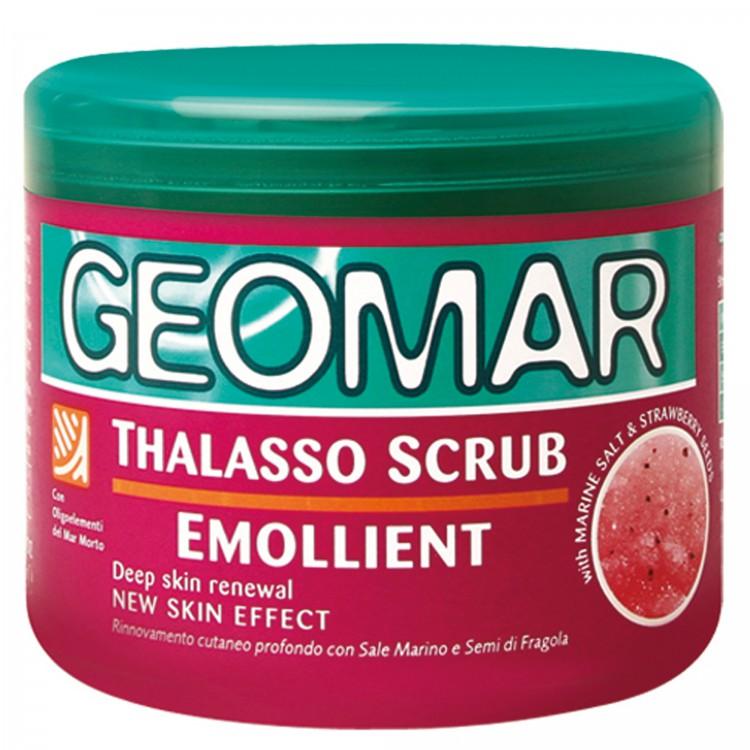 Geomar Талассо-скраб смягчающий с гранулами клубники 600 гр от Лаборатория Здоровья и Красоты
