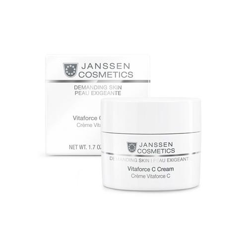 Янсен/Janssen Vitaforce C Cream Регенерирующий крем с витамином С 50 мл