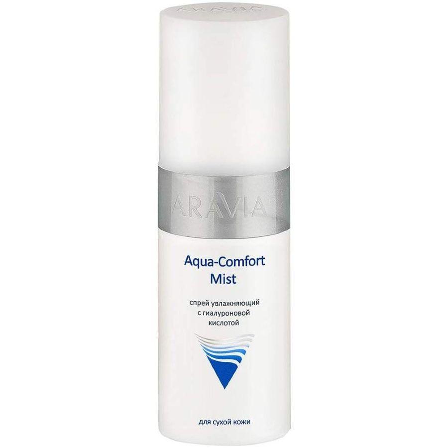 Купить Aravia Спрей увлажняющий с гиалуроновой кислотой Aqua Comfort Mist 150 мл, Aravia Professional