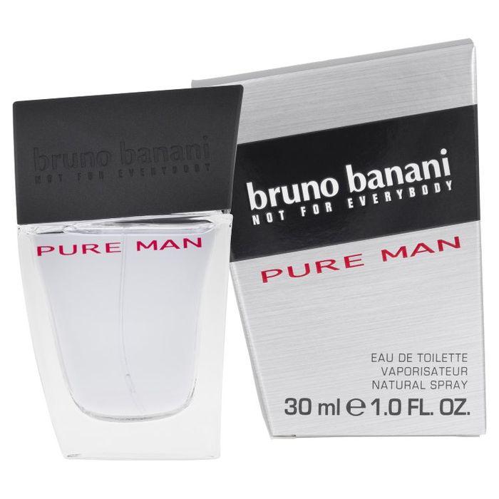 BRUNO BANANI PURE Туалетная вода мужская 30мл