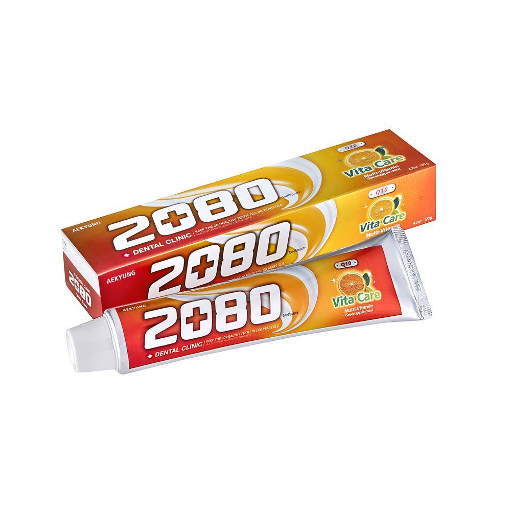 Купить KeraSys Зубная паста 2080 Витаминный уход с фтором 120 g