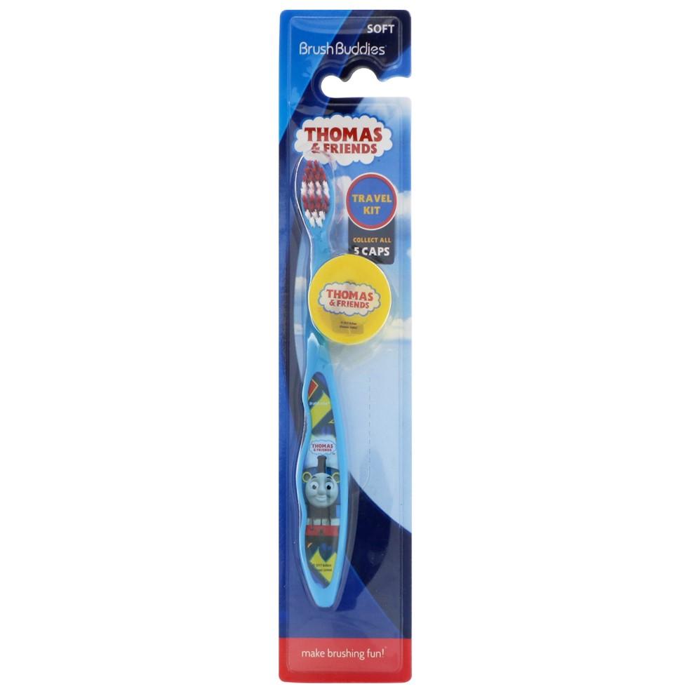 Купить Thomas&Friends Toothbrush with cap Travel Kit Детская зубная щетка с защитным колпачком