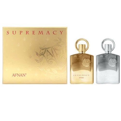 AFNAN SUPREMACY подарочный набор Supermacy Pour Femme 100 мл + Supermacy Pour Homme 100 мл