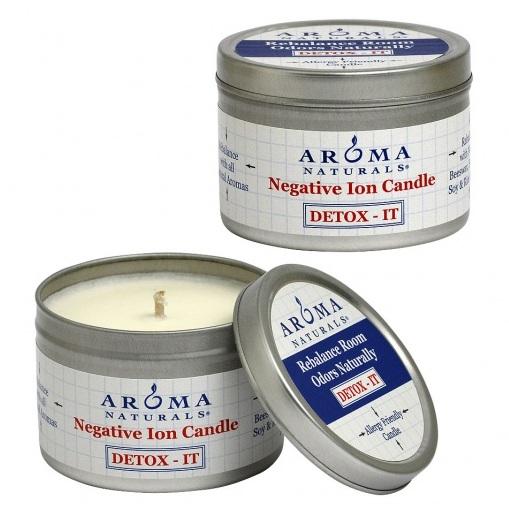 Купить Aroma Naturals Свеча Детокс 80 г банка