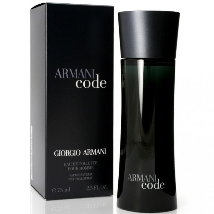 Купить GIORGIO ARMANI CODE вода туалетная мужская 75 ml