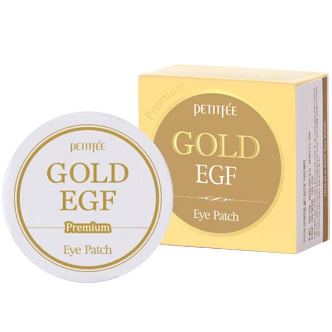 Купить Petitfee патчи для век гидрогелевые Premium Gold & EGF Hydrogel Eye Patch 60шт
