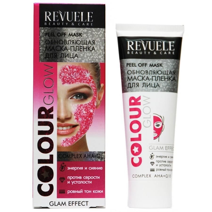 Купить Revuele Маска-пленка для лица обновляющая Colour Glow 80мл