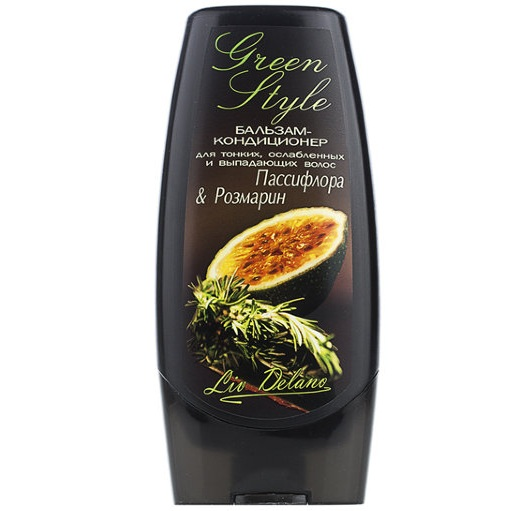 Купить Liv Delano бальзам-кондиционер Пассифлора и Розмарин для тонких и ослабленных волос 200мл