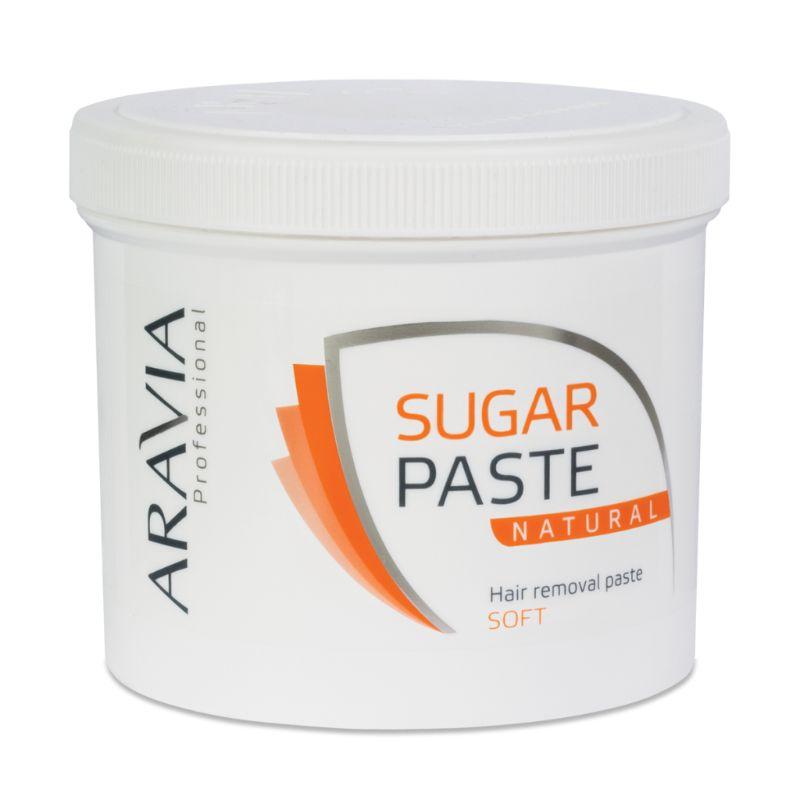 Купить Aravia Паста сахарная для депиляции Натуральная мягкой консистенции 750г, Aravia Professional