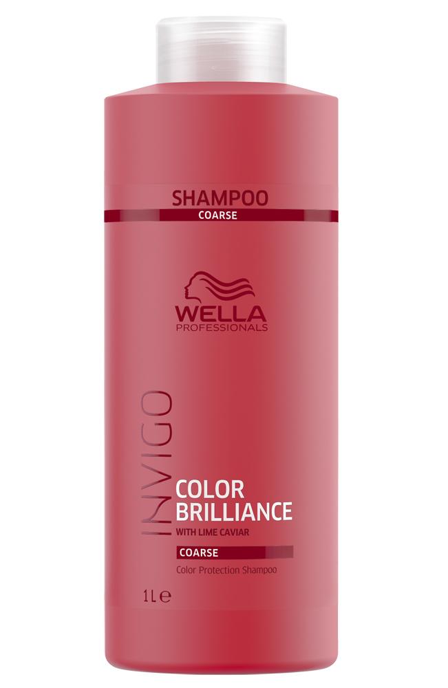 Купить Wella Invigo Color Brilliance Шампунь для окрашенных жестких волос 1000мл