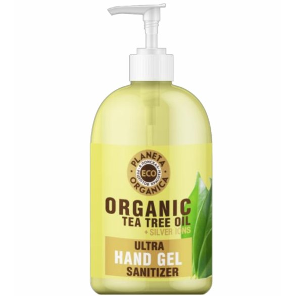Купить Планета органика ECO универсальный гель для рук масло чайного дерева 300мл, Planeta Organica