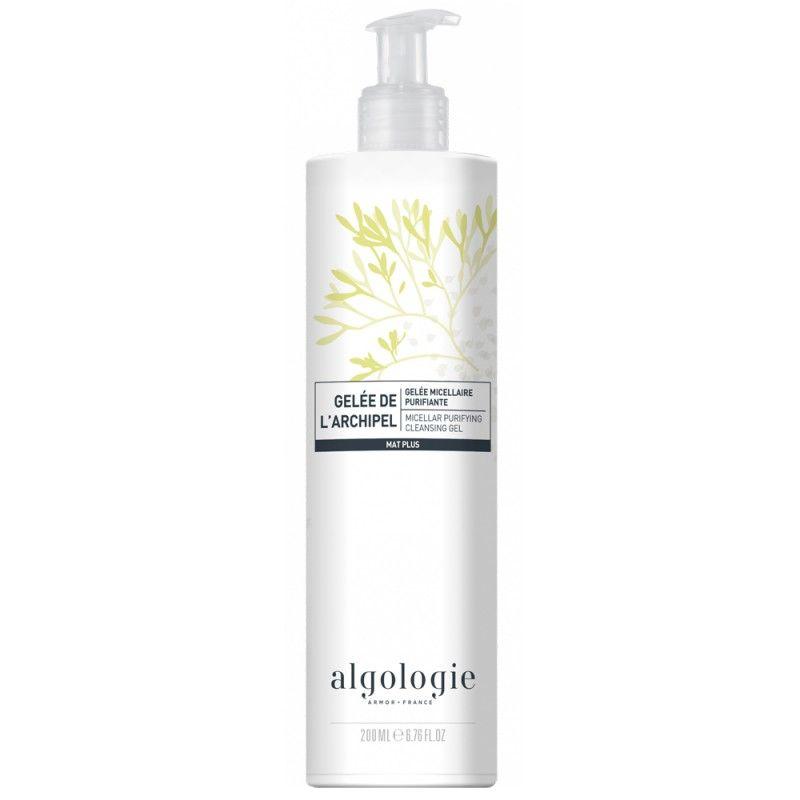 Купить Algologie Мицеллярный очищающий гель для жирной и смешанной кожи 200мл