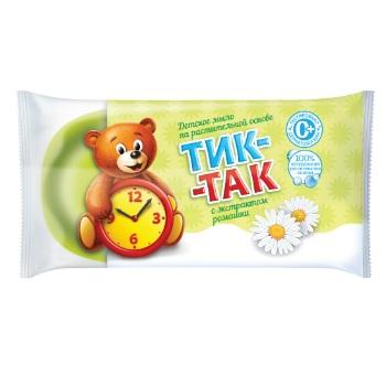 Мыло Тик-так с экстрактом ромашки в обертке 75 г Свобода.