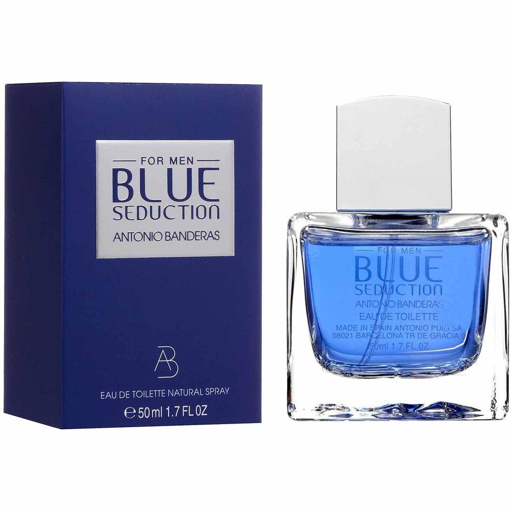 Купить Antonio Banderas Blue Seduction туалетная вода мужская 50 мл