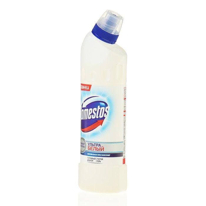 Domestos Средство чистящее для унитаза Ультра Белый 500мл
