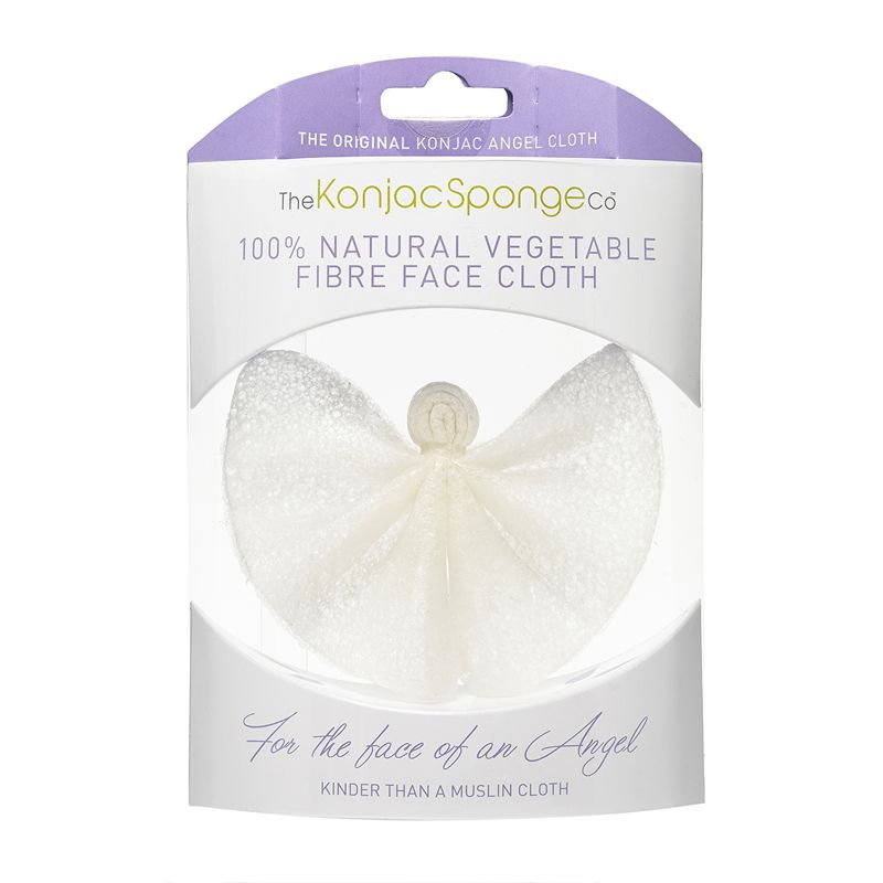 The konjac angel cloth спонж для лица и