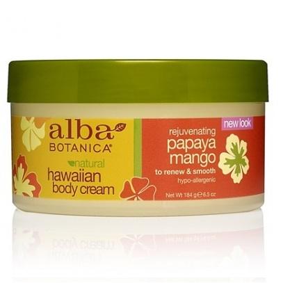 Alba Botanica Гавайский крем для тела с папайей и манго 184 г