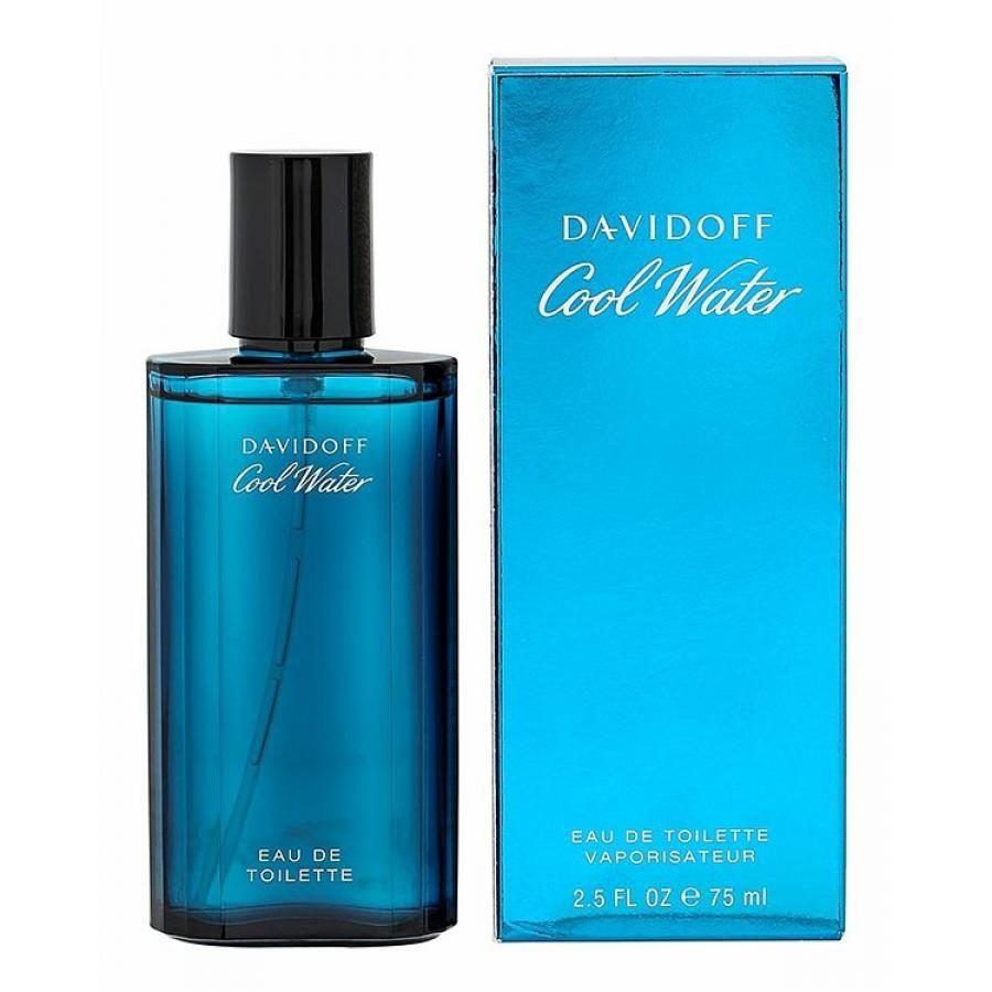 Купить DAVIDOFF COOL WATER Туалетная вода мужская 75мл