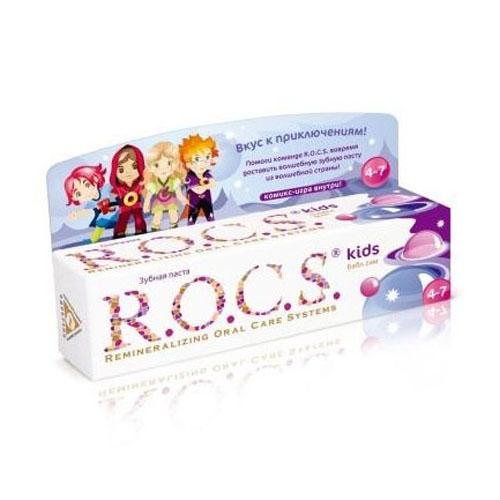 Рокс/rocs зубная паста рокс бабл гам
