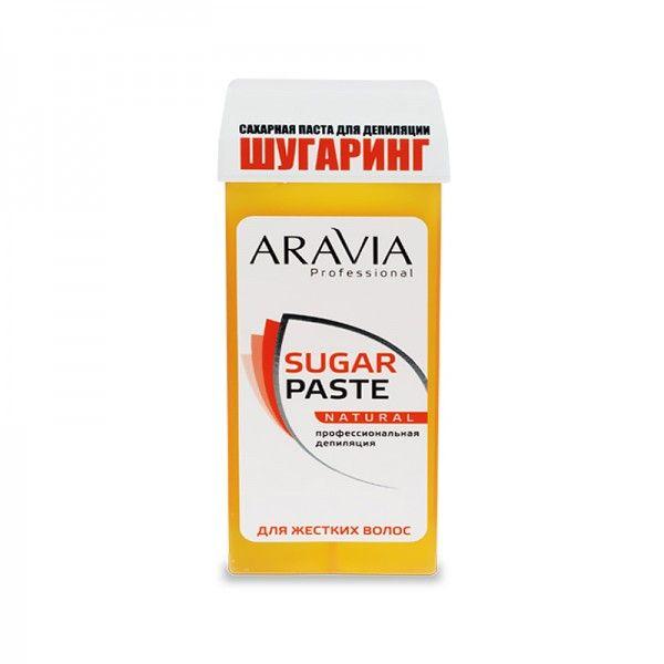 Купить Aravia Паста сахарная для депиляции в картридже Натуральная мягкой консистенции 150г, Aravia Professional