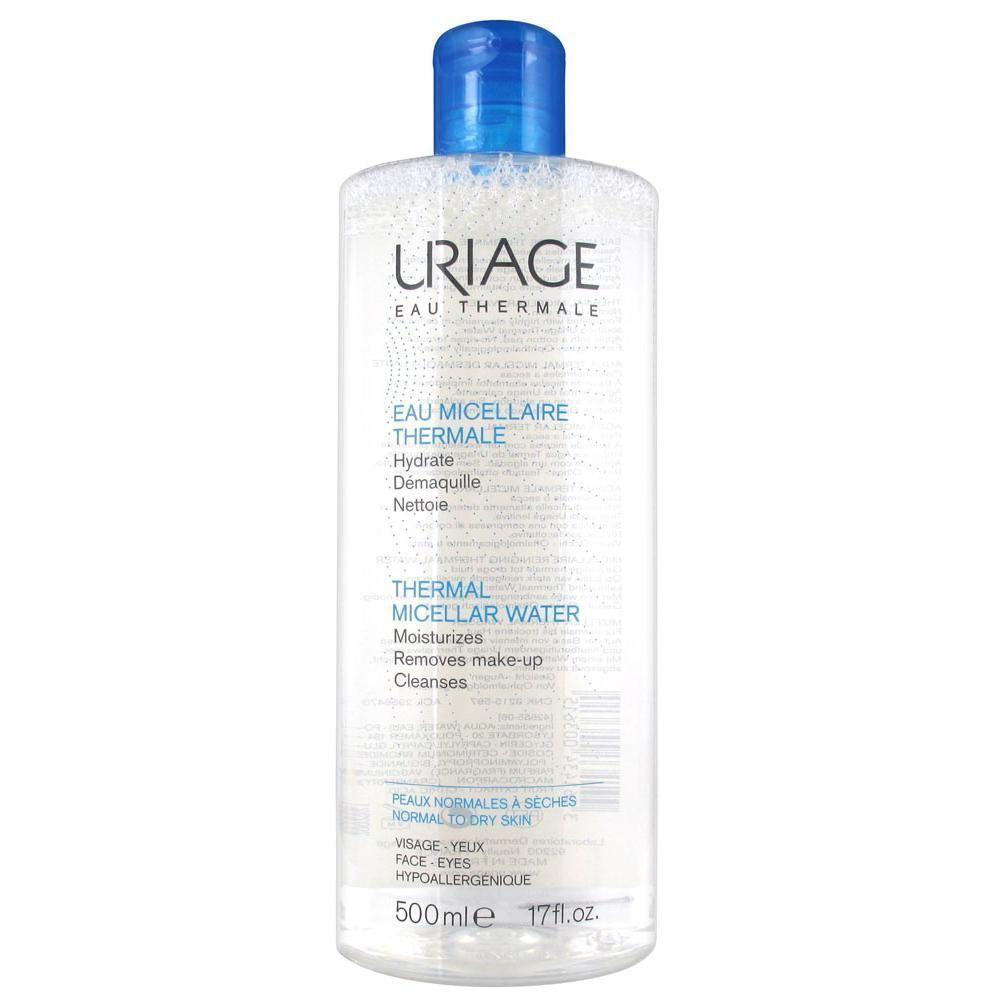 Uriage  очищающая мицеллярная вода для сухой и нормальной кожи 500 мл