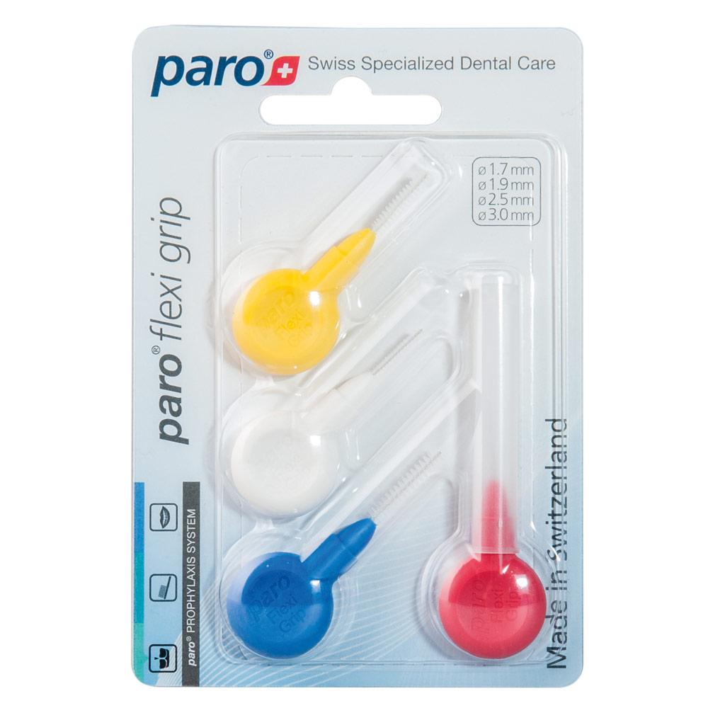 Paro Flexi Grip Set Набор ершиков разного диаметра (1.7, 1.9, 2.5, 3.0)