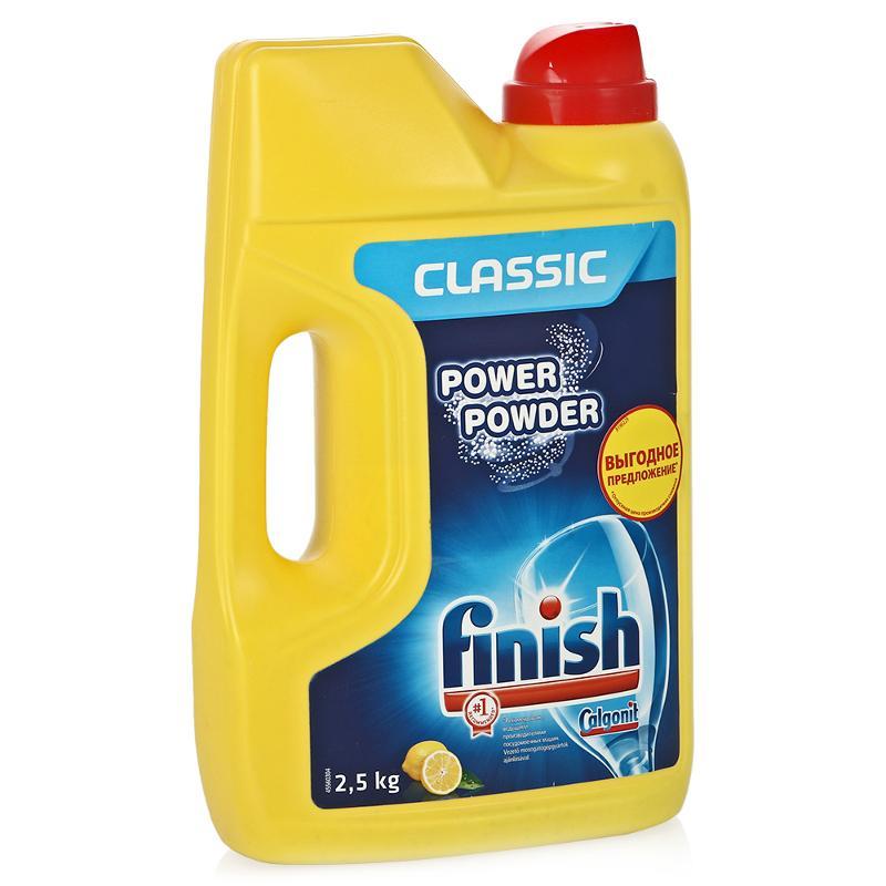 Finish POWER POWDER Лимон Средство для мытья посуды в посудомоечных машинах порошкообразное 2,5 кг от Лаборатория Здоровья и Красоты