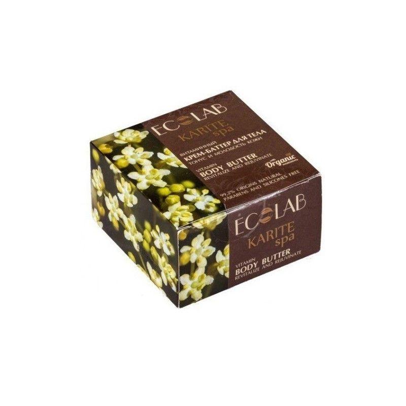 Эколаб SPA Karite Крем-баттер для тела витаминный Тонус и молодость кожи 200 мл Ecolab фото